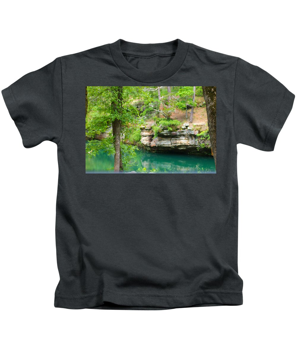Ozarks Kids T-Shirt featuring the photograph Ozark Heaven by Karen Wagner