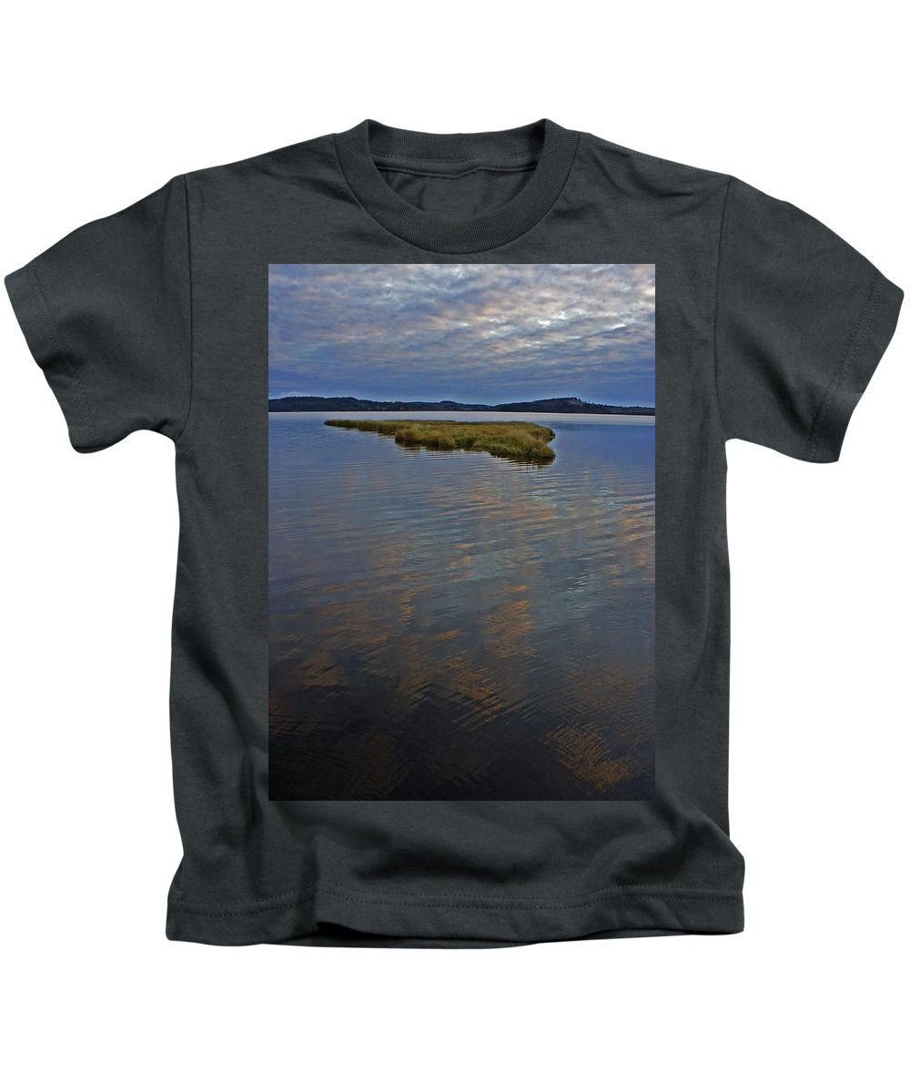 Water Kids T-Shirt featuring the photograph Painted River by Jeff Galbraith