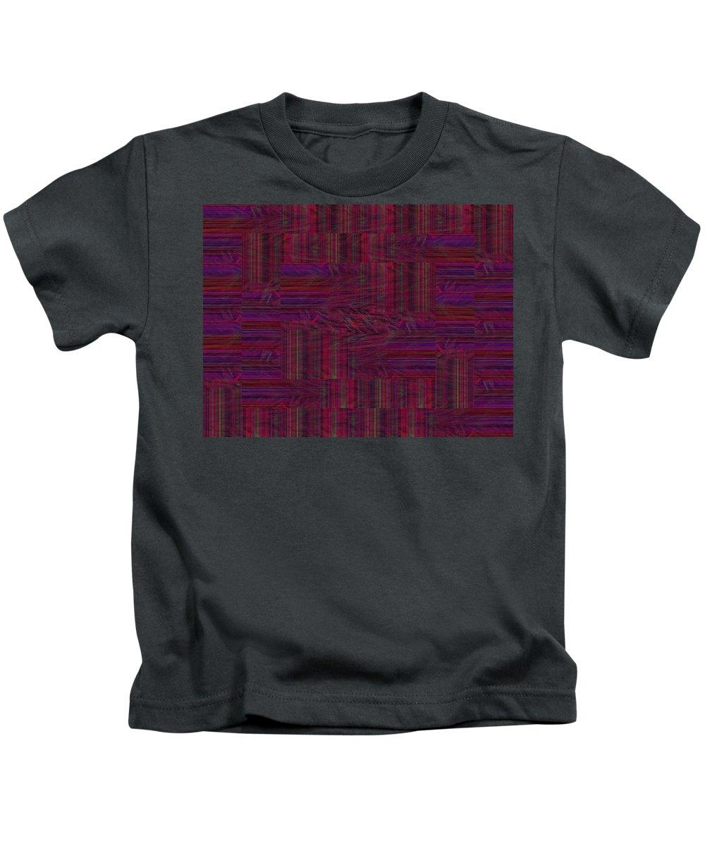 Patch Kids T-Shirt featuring the digital art Patchwork Rift by Tim Allen