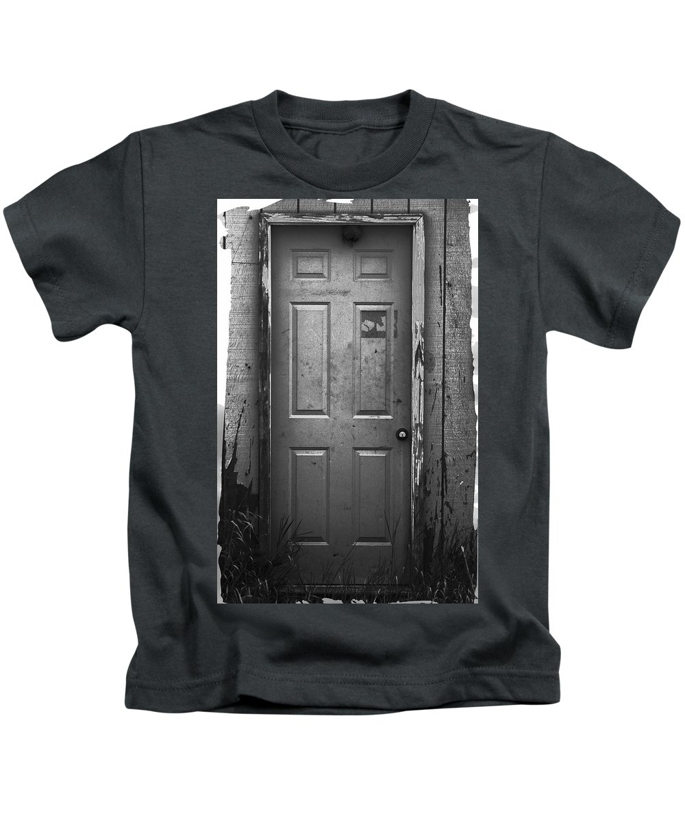 Redneck Kids T-Shirt featuring the photograph Redneck Burglar Alarm by One Rude Dawg Orcutt