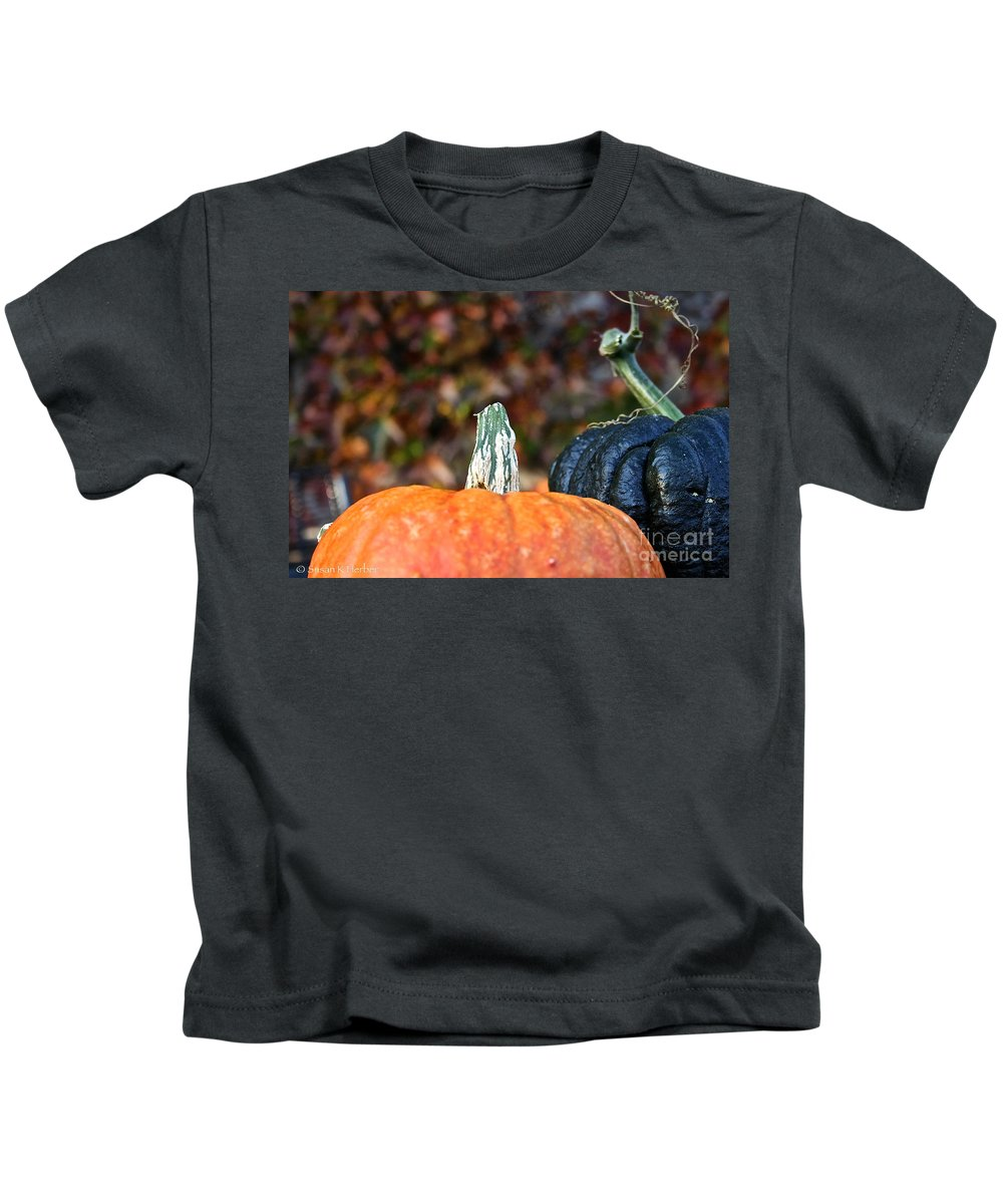 Outdoors Kids T-Shirt featuring the photograph Rich Autumn Colors by Susan Herber