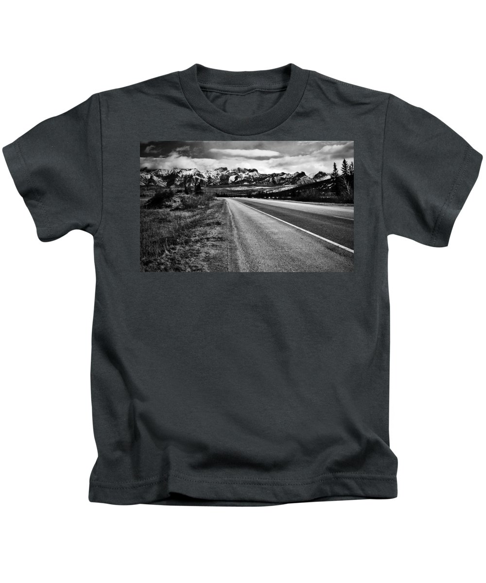 Street Photography Photographs Framed Prints Photographs Framed Prints Kids T-Shirt featuring the photograph Road To Rocks by The Artist Project