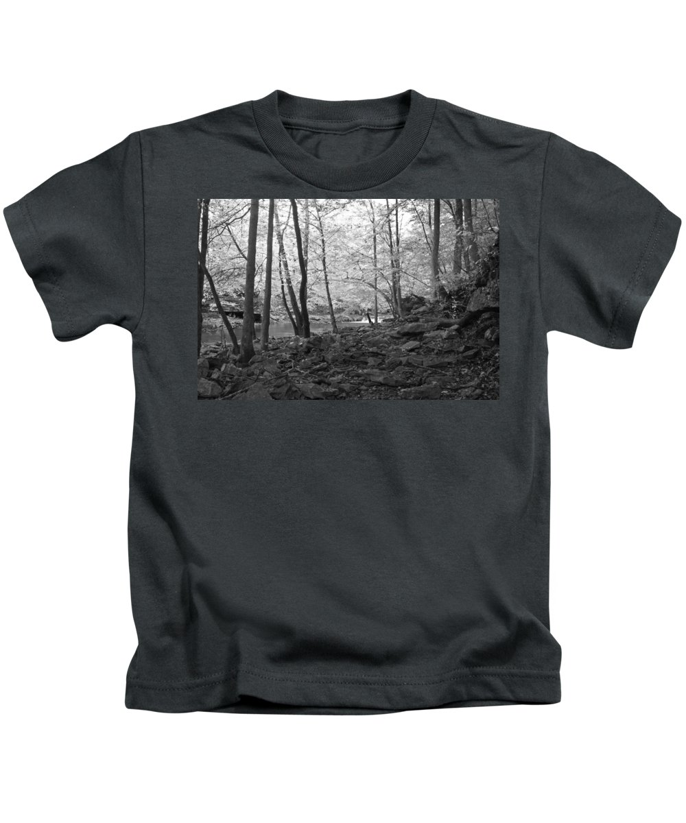 Rock Kids T-Shirt featuring the photograph Rocky Road by David Troxel