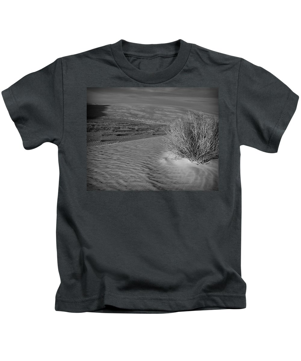 New Mexico Kids T-Shirt featuring the photograph Sand Shrub 3 by Sean Wray