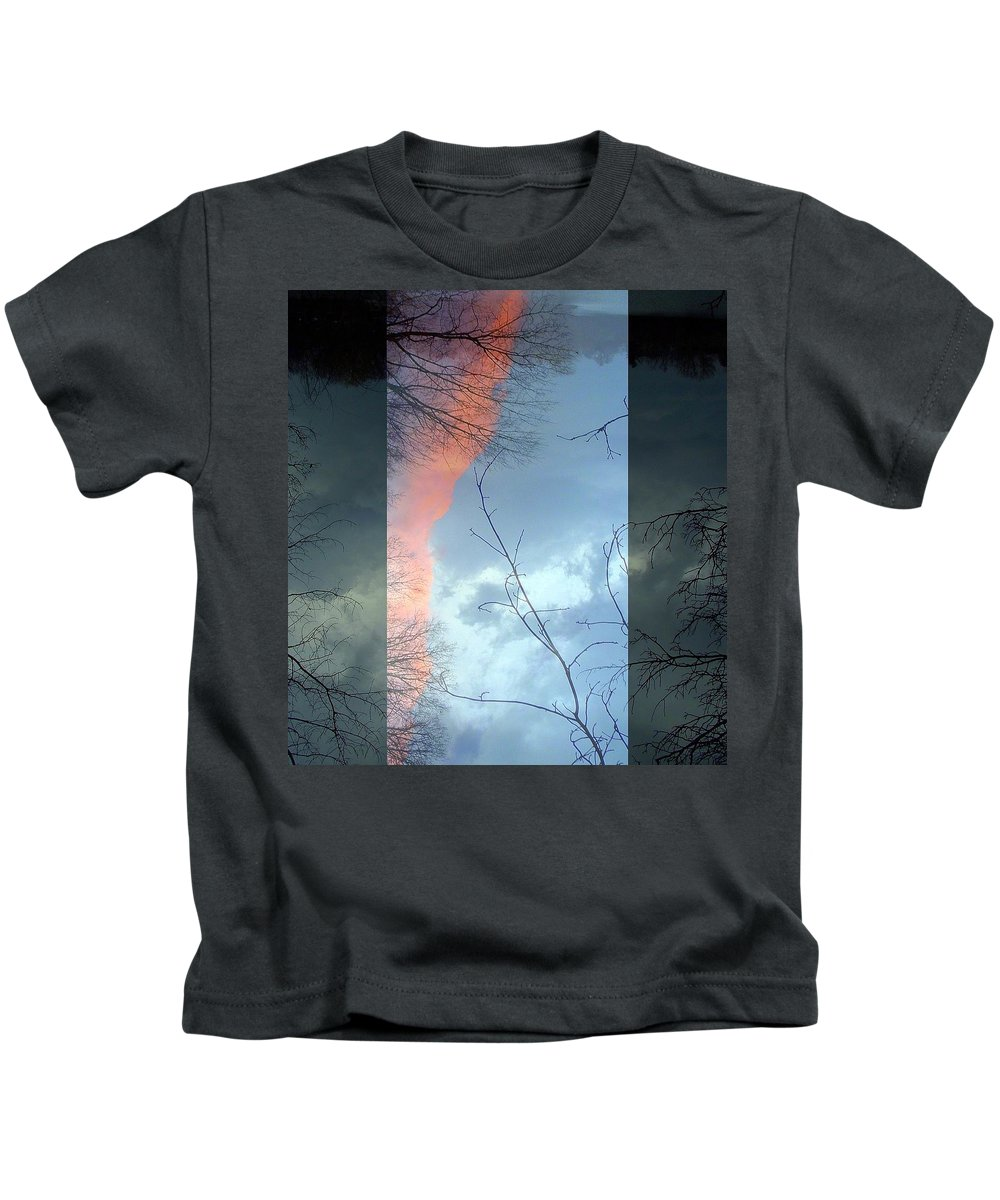 Sky Kids T-Shirt featuring the photograph Serenity by Kathy Augustine