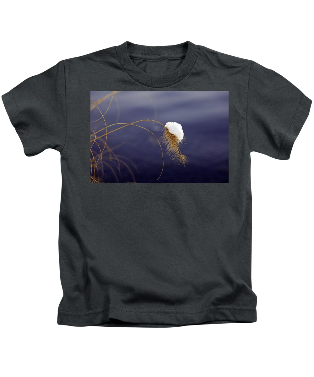 Snow Kids T-Shirt featuring the photograph Snow Weed by Francesa Miller