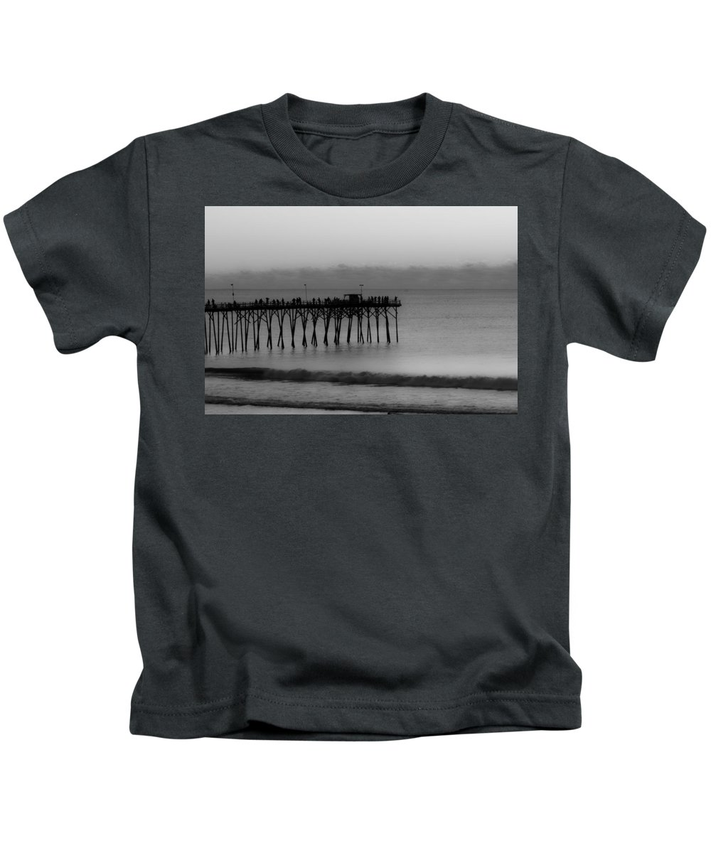 Pier Kids T-Shirt featuring the photograph Subtle Pier by Betsy Knapp