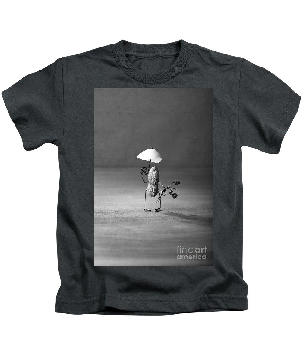 Peanut Kids T-Shirt featuring the photograph Taking A Walk 02 by Nailia Schwarz