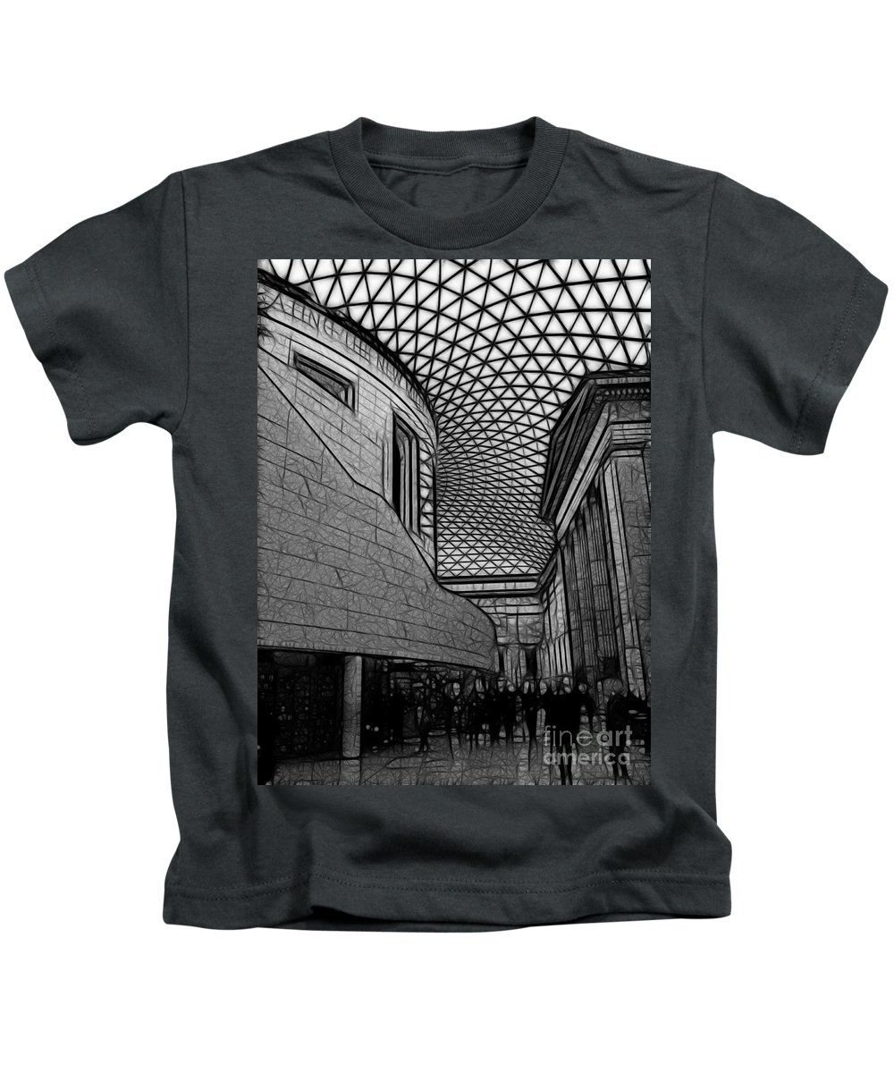 London Kids T-Shirt featuring the photograph The British Museum I by Sheila Laurens