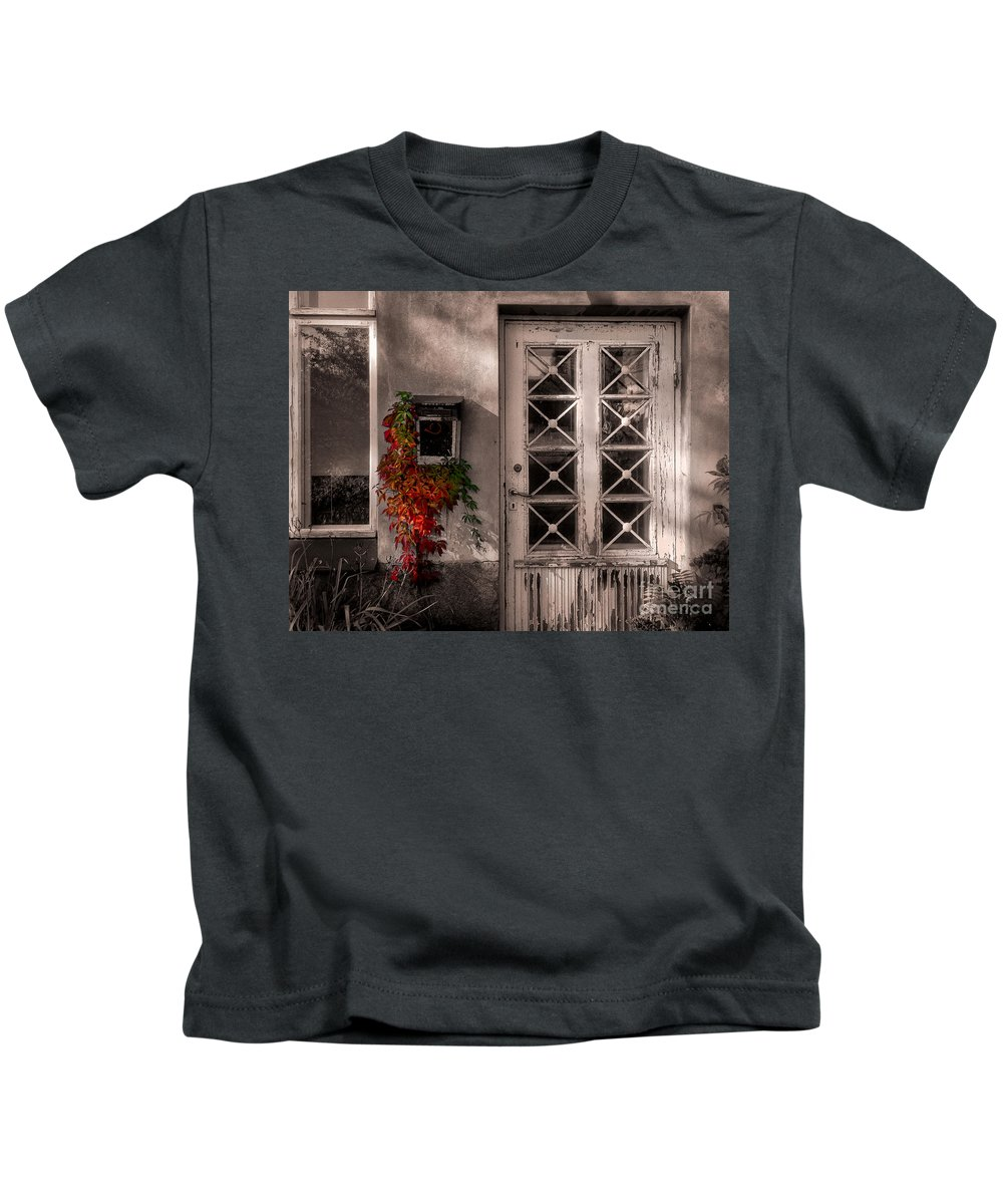 Old Kids T-Shirt featuring the photograph The Old Mailbox by Ari Salmela