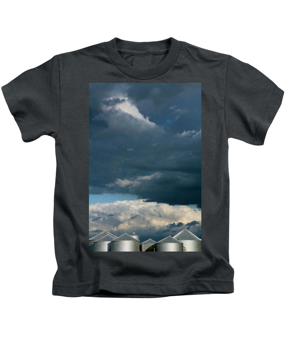 Tiny Tin Kids T-Shirt featuring the photograph Tiny Tin by Edward Smith