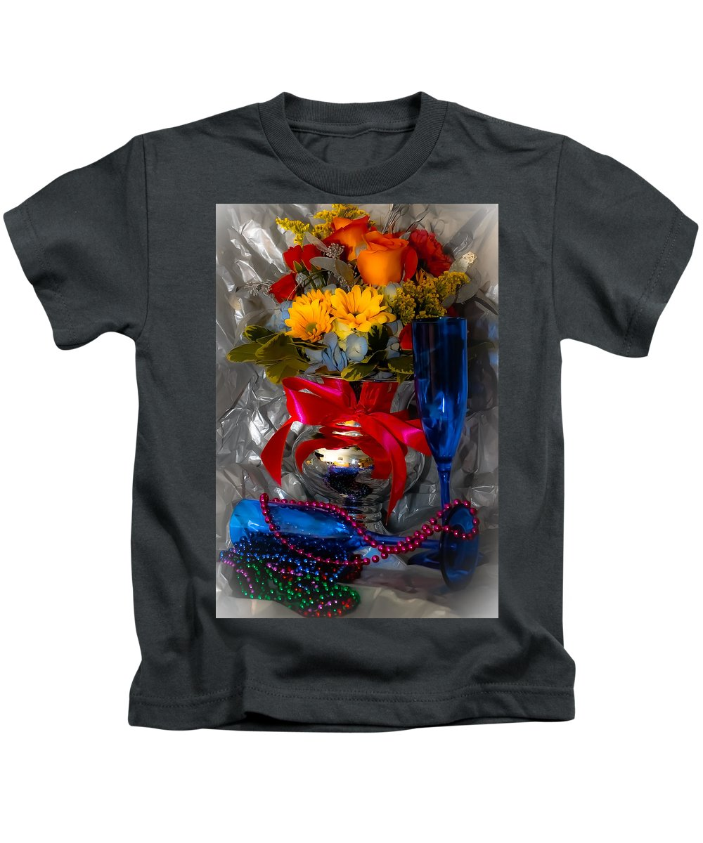 2012 Kids T-Shirt featuring the photograph To 2012 by DigiArt Diaries by Vicky B Fuller