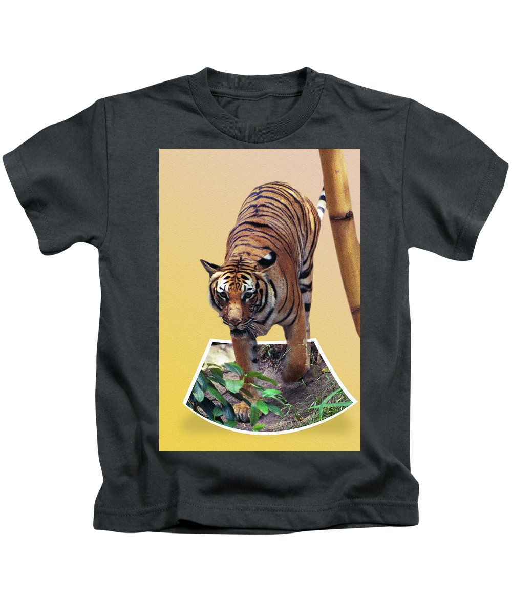 Kids T-Shirt featuring the photograph Too Late Dinner Time by Michael Frank Jr