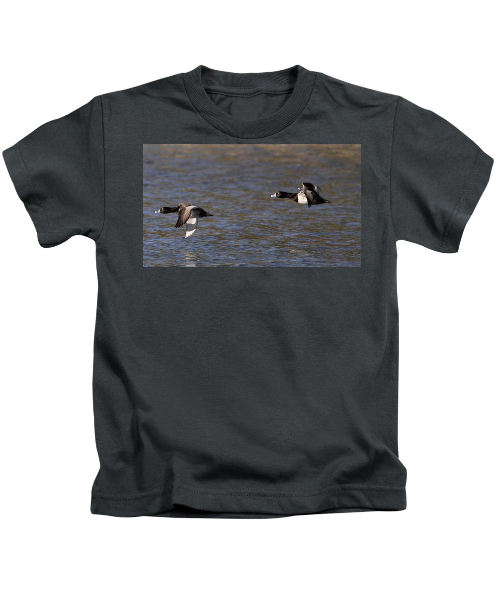 Kids T-Shirt featuring the photograph Two Guys by Travis Truelove