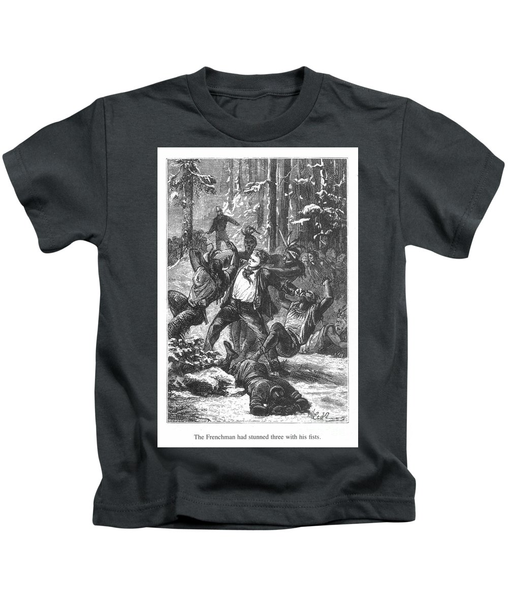 19th Century Kids T-Shirt featuring the photograph Verne: Around The World by Granger