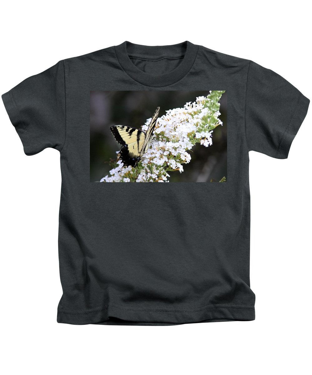 Swallowtail Butterfly Kids T-Shirt featuring the photograph Walking Uphill by Travis Truelove