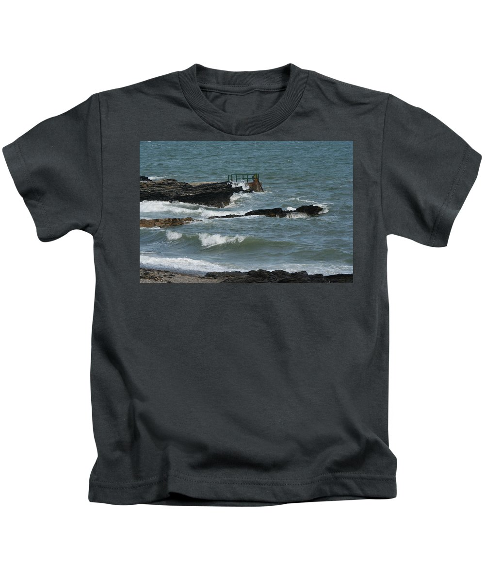 Water Kids T-Shirt featuring the photograph Water 0002 by Carol Ann Thomas
