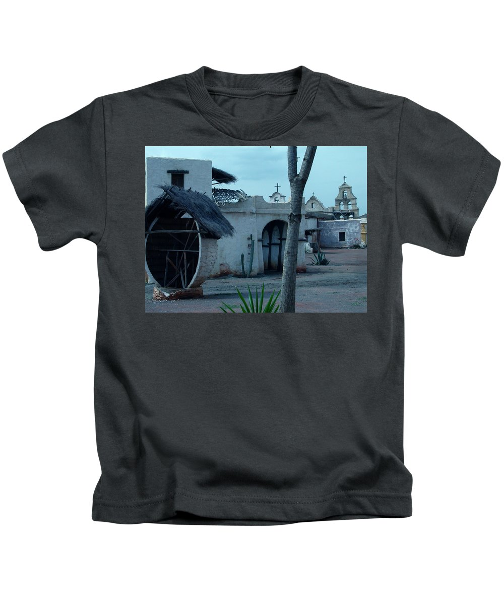 Colette Kids T-Shirt featuring the photograph Western Village Taverna Spain by Colette V Hera Guggenheim