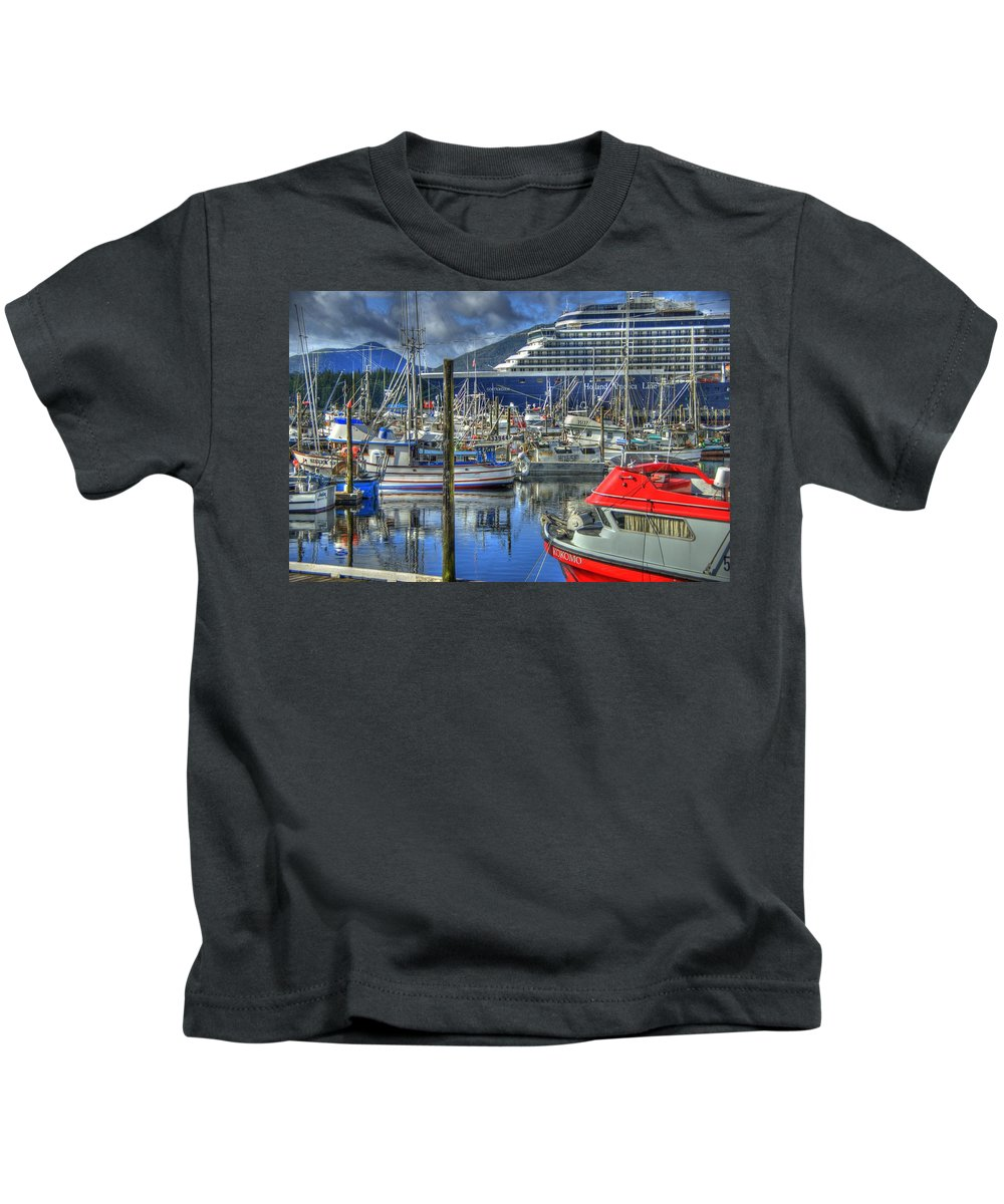 Alaska Kids T-Shirt featuring the photograph Which One Is Mine by Jon Berghoff