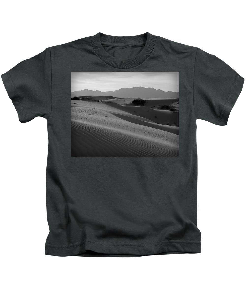 New Mexico Kids T-Shirt featuring the photograph White Sands 2 by Sean Wray