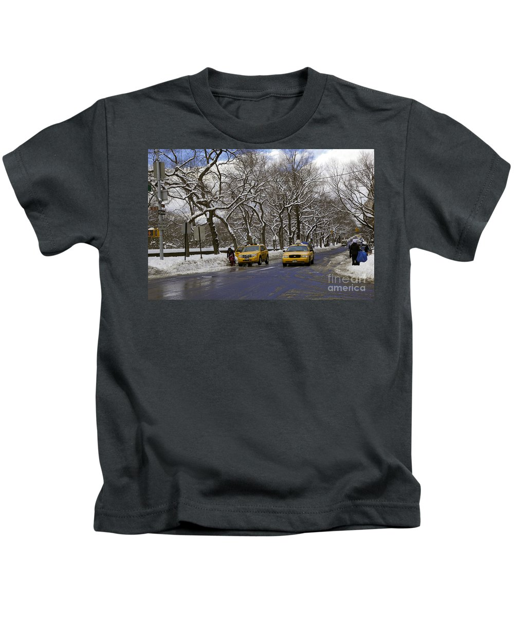 Landscape Kids T-Shirt featuring the photograph Winter - 2011 by Madeline Ellis