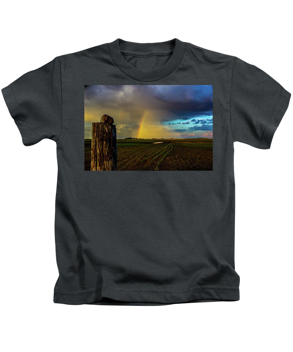 #storm Kids T-Shirt featuring the photograph After The Storm by Earl Eells a