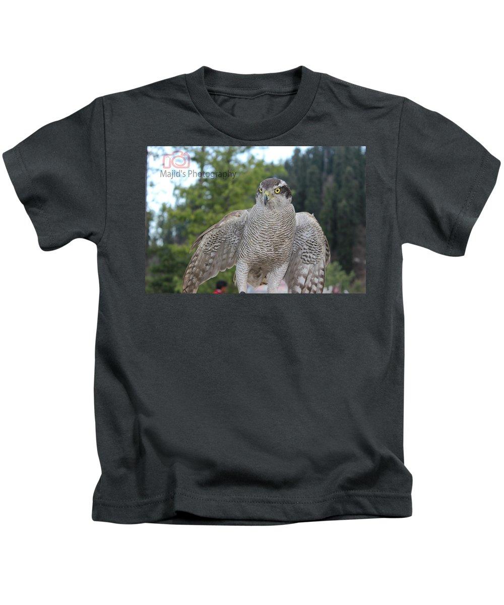 Mountain Kids T-Shirt featuring the photograph Animal by Majid Sadaqat