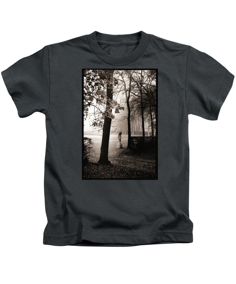 Versailles Kids T-Shirt featuring the photograph Bassin D'apollon, Versailles by Allan Janus