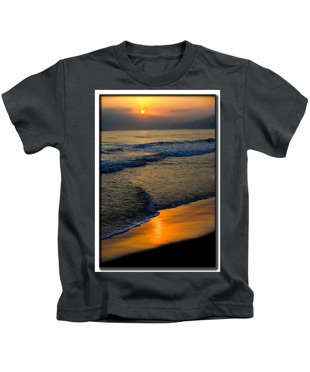 Sea Kids T-Shirt featuring the photograph Caribbean Sunshine by Galeria Trompiz