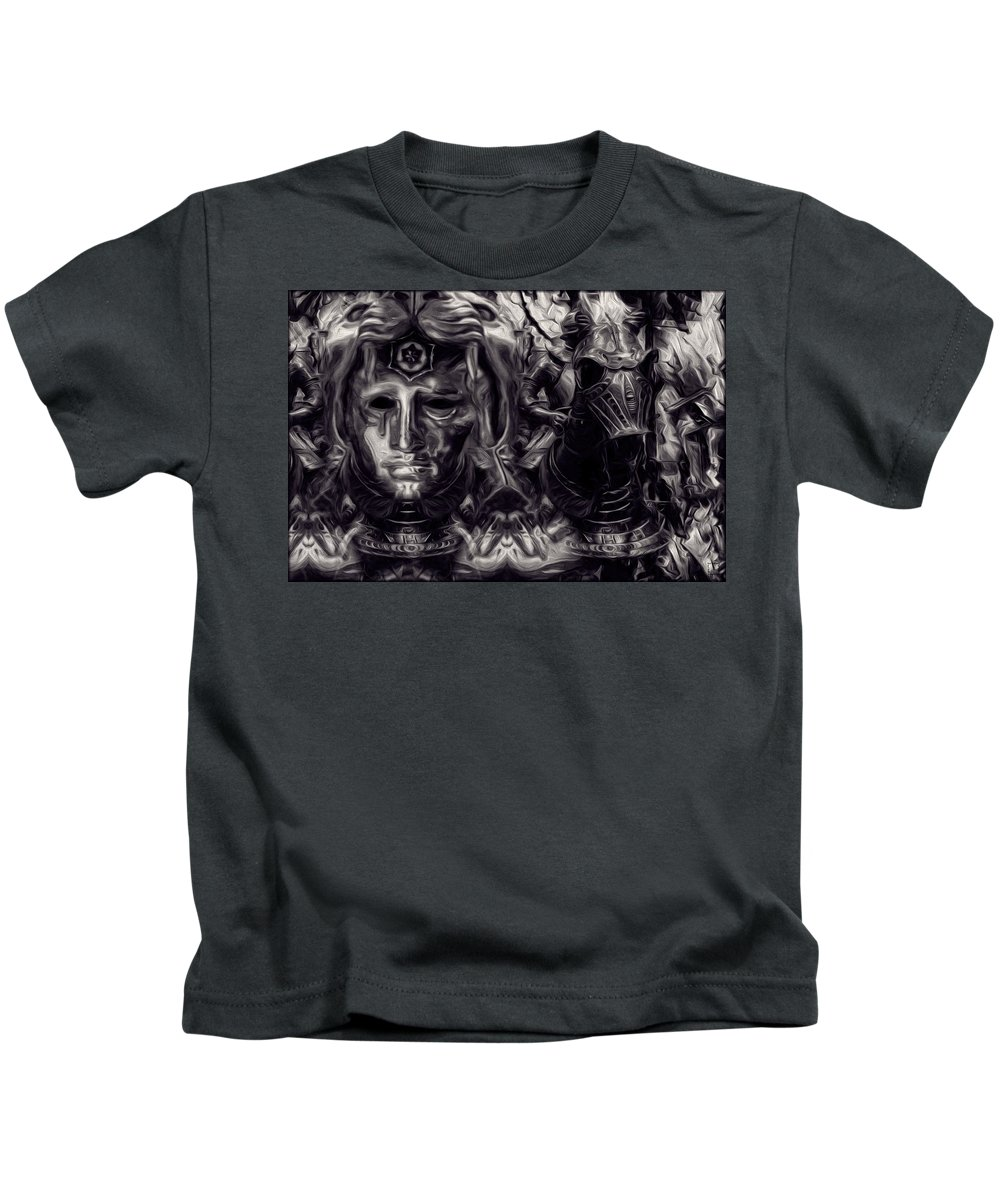 Echoes Of The Past Kids T-Shirt featuring the photograph Echoes Of The Past by Daniel Arrhakis