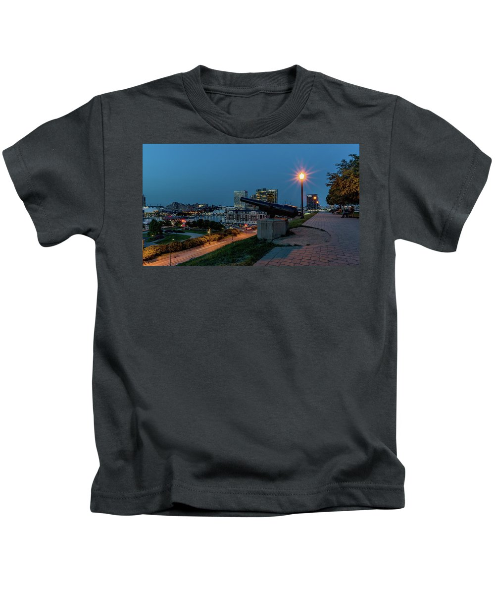 2017 Kids T-Shirt featuring the photograph Federal Hill by Jim Archer