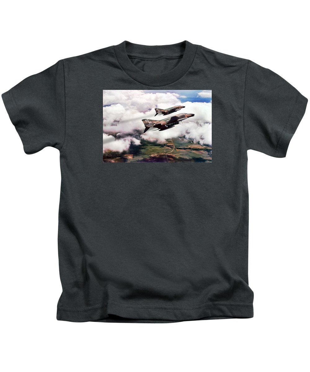 Aviation Kids T-Shirt featuring the digital art Good Will Hunting by Peter Chilelli