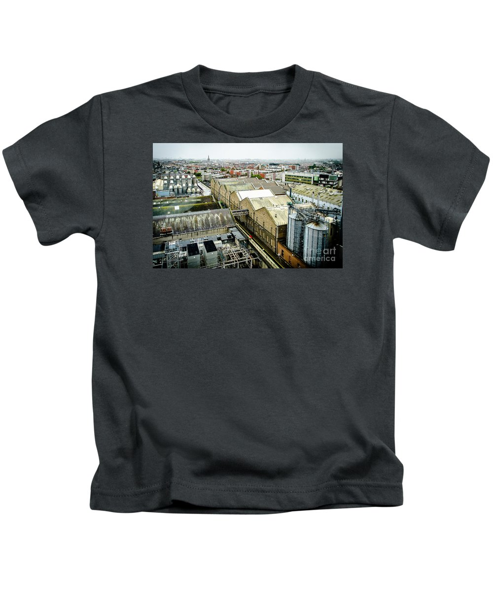 Ireland Kids T-Shirt featuring the photograph Guinness Brewery In Dublin by RicardMN Photography