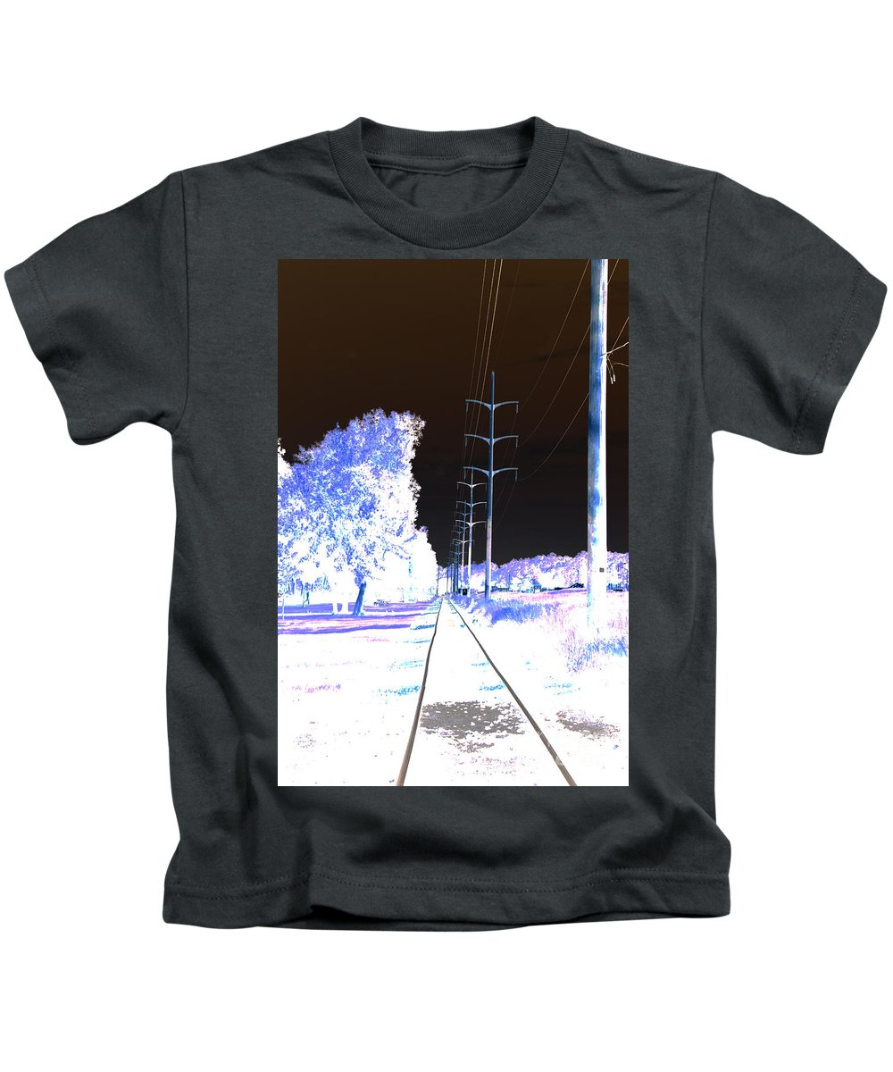 Kids T-Shirt featuring the photograph In Line by Jamie Lynn