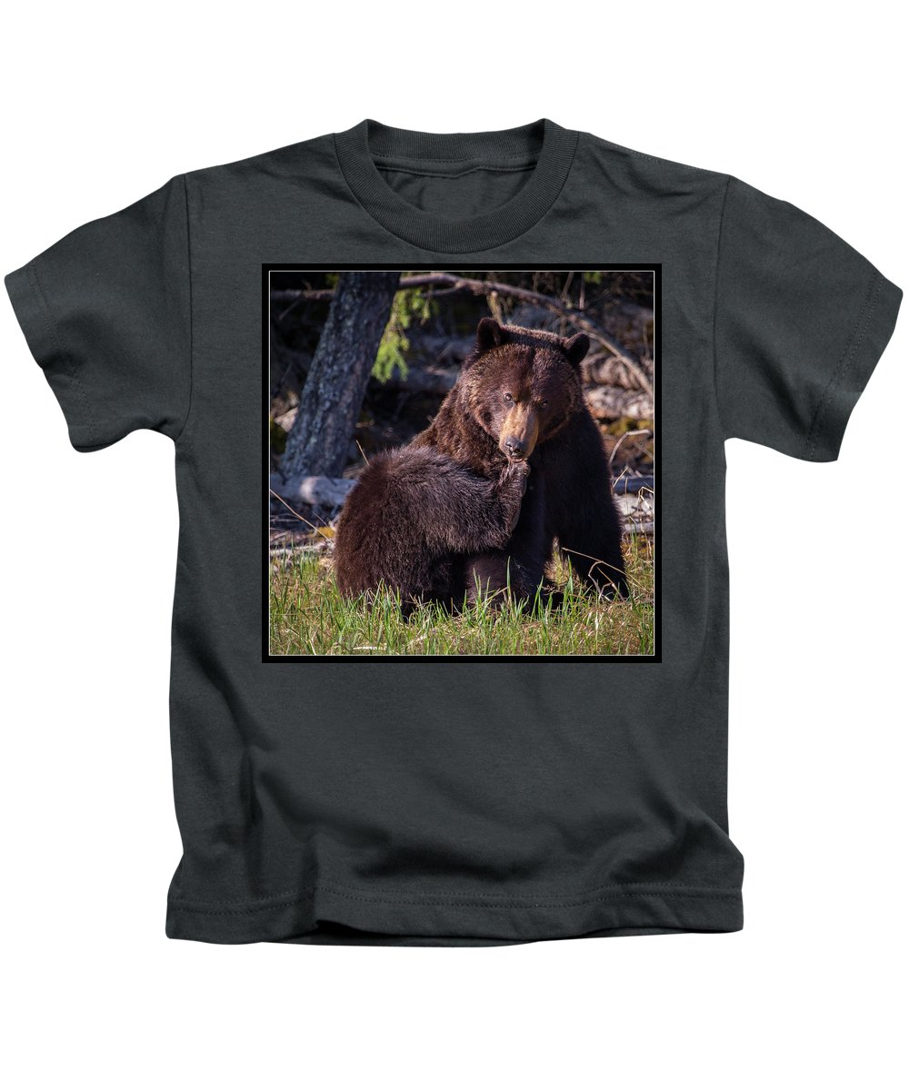 Kids T-Shirt featuring the photograph 1 by J and j Imagery