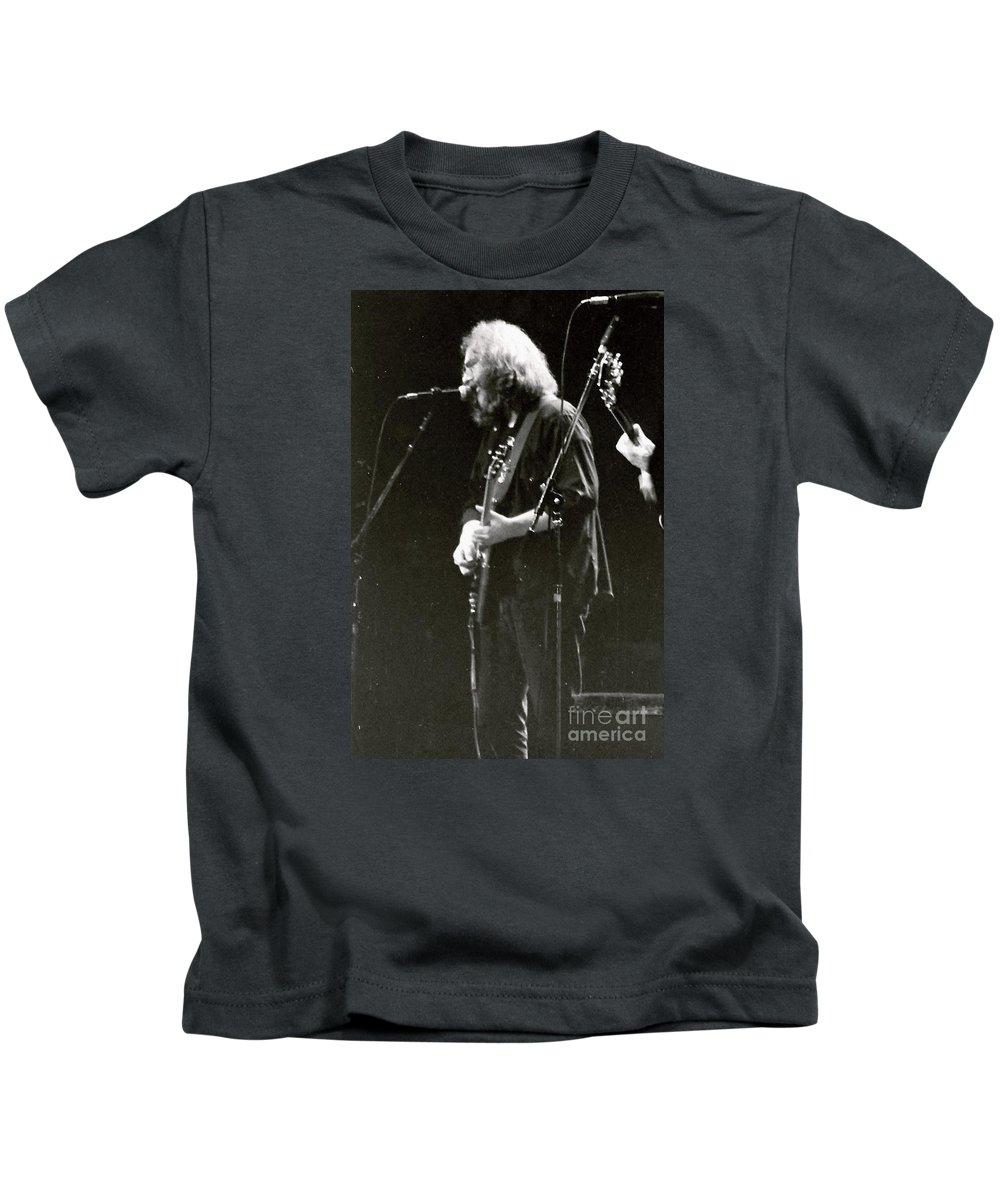 Jerry Kids T-Shirt featuring the photograph Grateful Dead - Jerry Garcia - Celebrities by Susan Carella