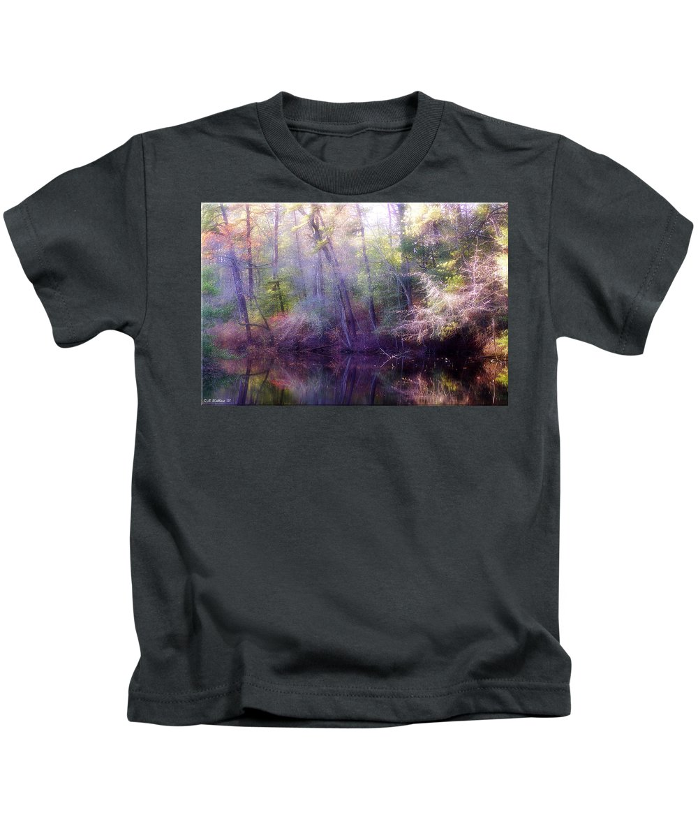 2d Kids T-Shirt featuring the photograph Lake Waterford by Brian Wallace