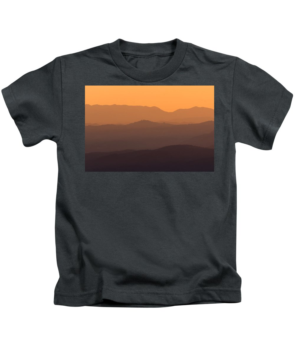 Layers Kids T-Shirt featuring the photograph Layers by Blaz Gvajc