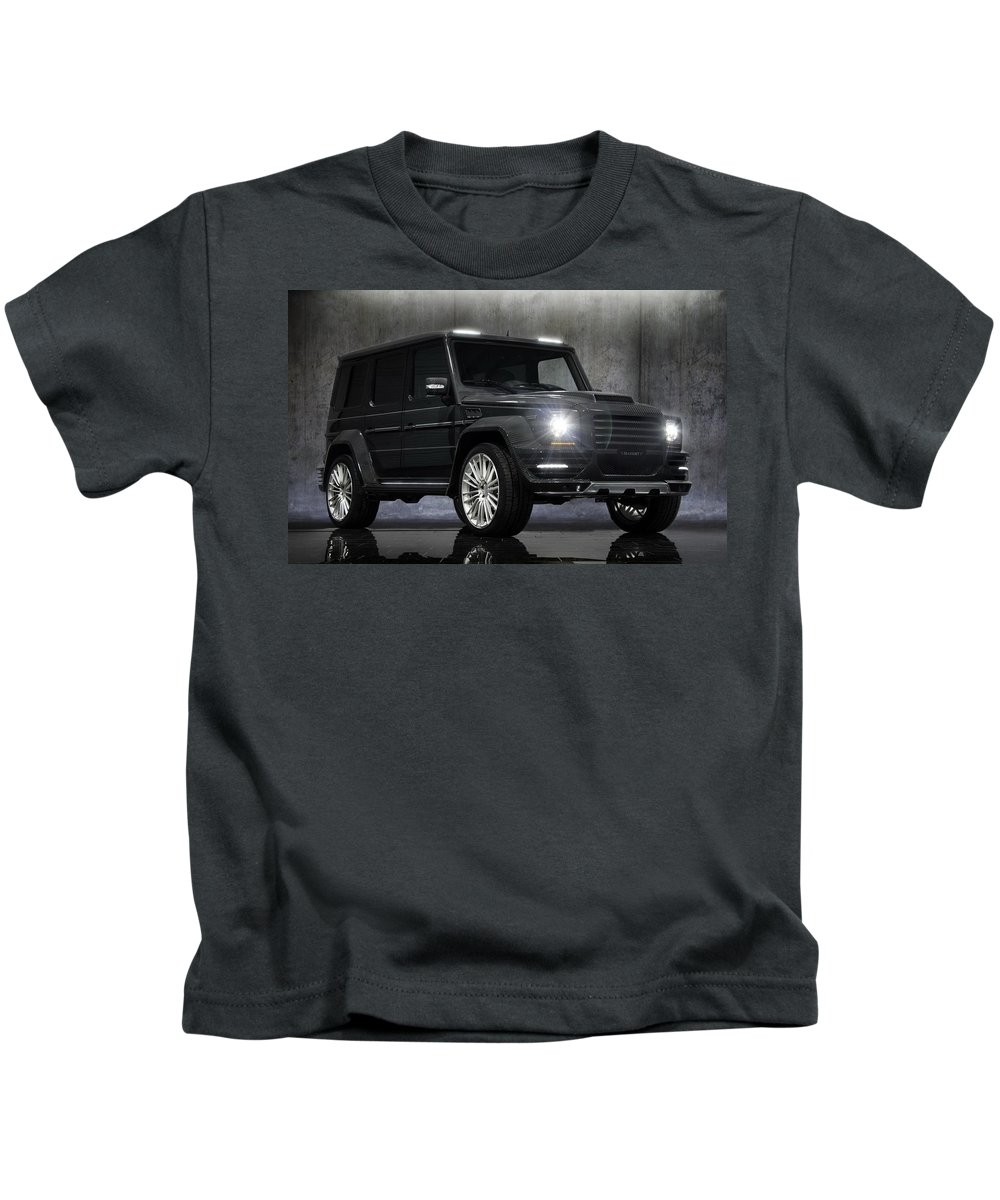 Mercedes Kids T-Shirt featuring the digital art Mercedes by Dorothy Binder