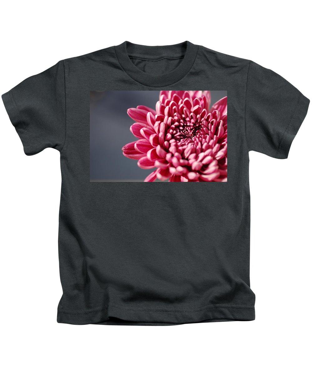 Flower Kids T-Shirt featuring the photograph Pink Flower by Jill Reger