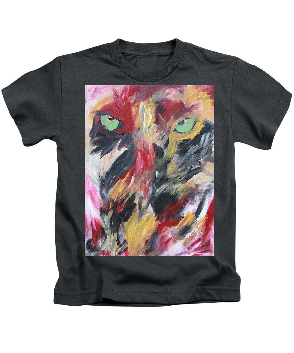 Revenge Kids T-Shirt featuring the painting Revenge by Melissa Nay