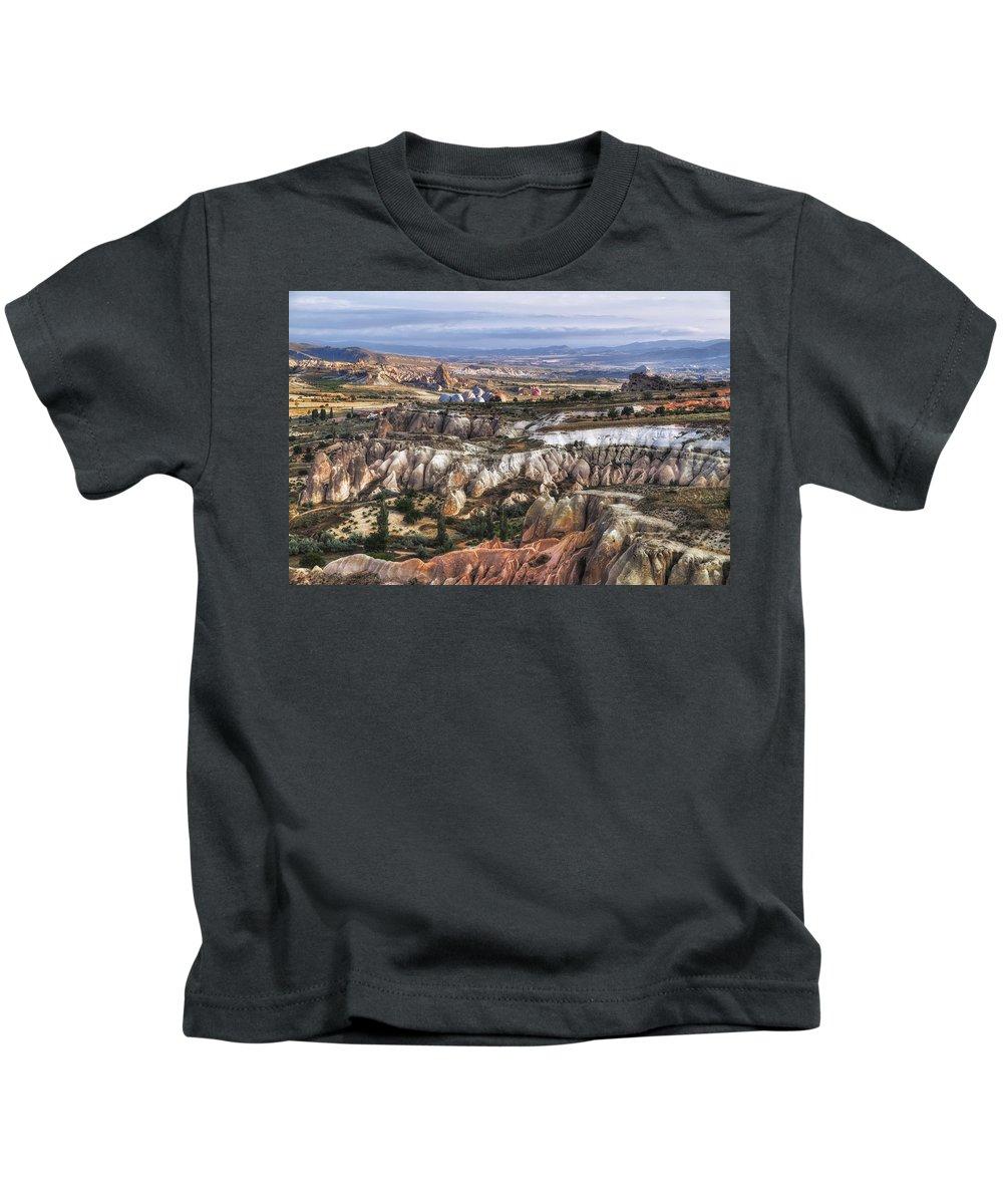 Cappadocia Kids T-Shirt featuring the photograph Cappadocia - Turkey by Joana Kruse