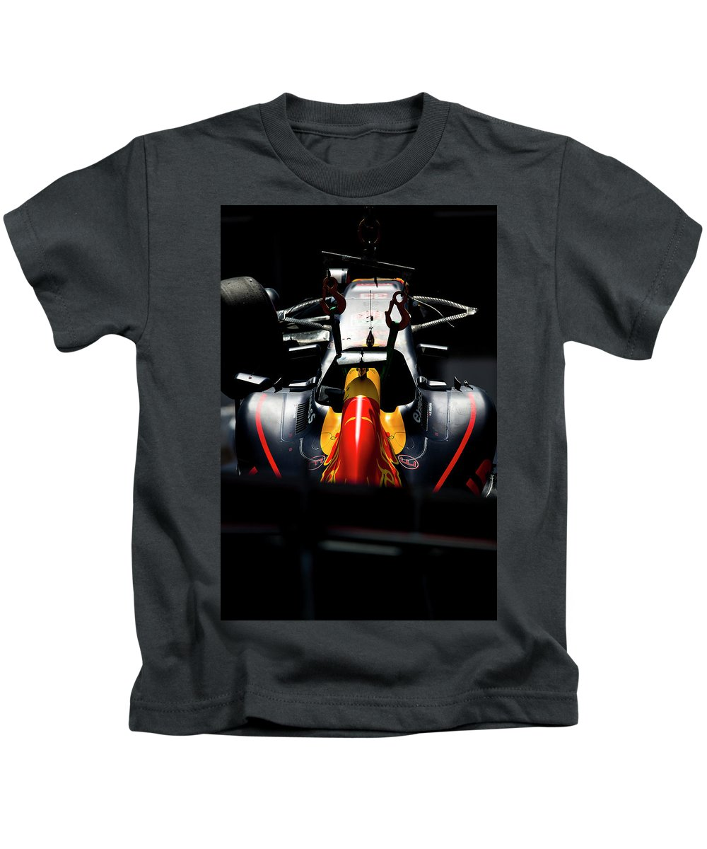 Monaco Kids T-Shirt featuring the photograph Red Bull Formula 1 by Srdjan Petrovic