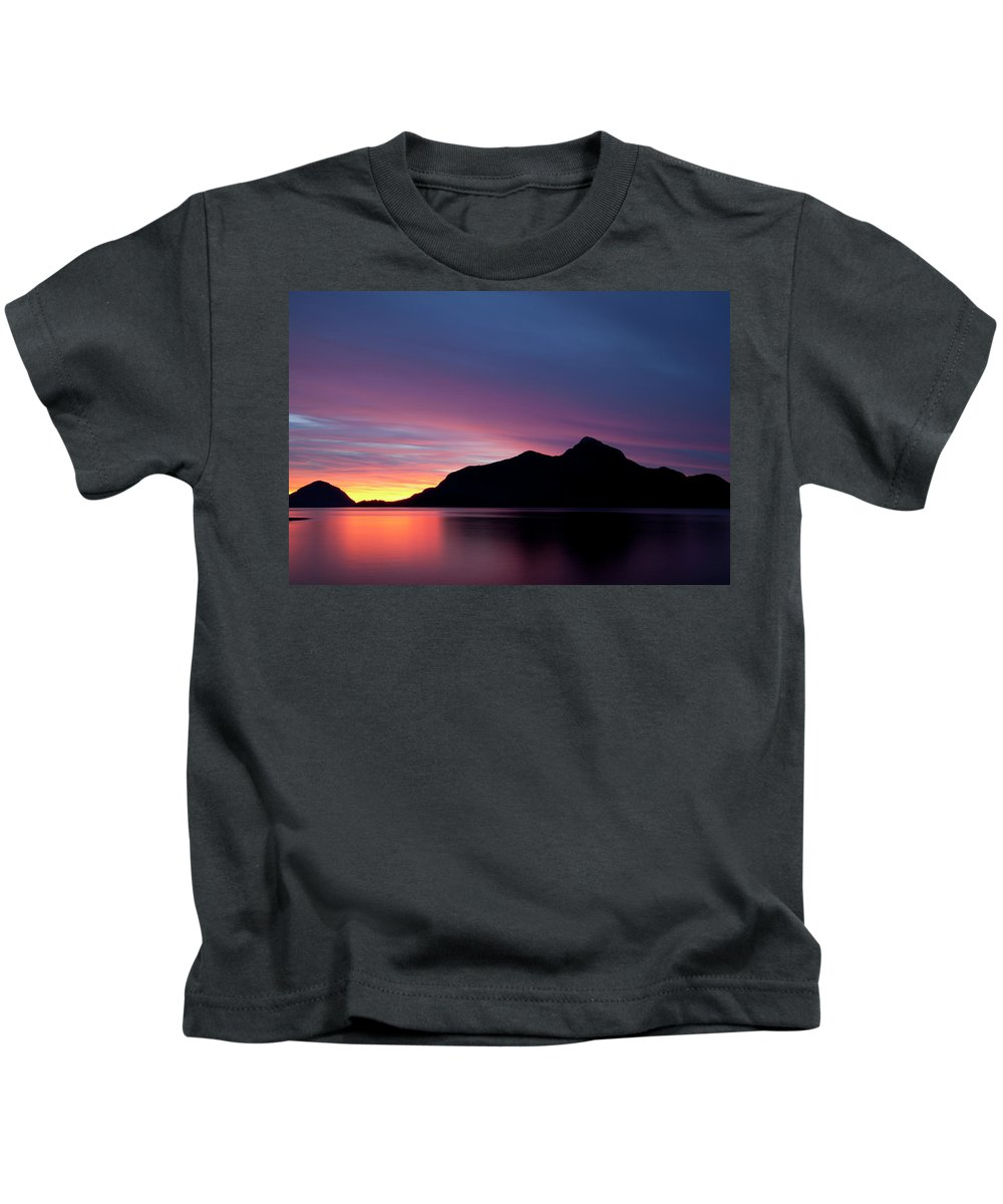 Porteau Kids T-Shirt featuring the photograph 1.1.11 by Monte Arnold