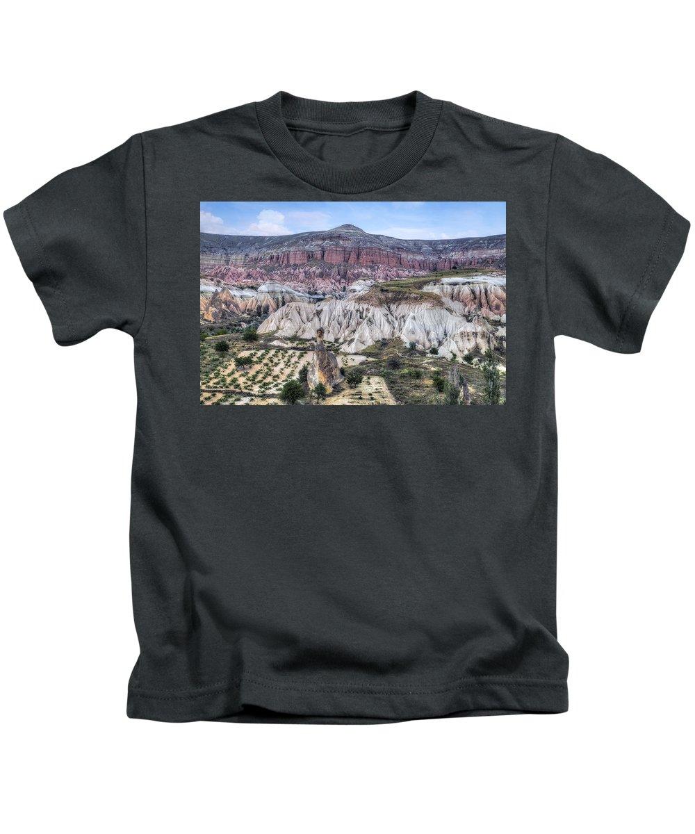 Rose Valley Kids T-Shirt featuring the photograph Cappadocia - Turkey by Joana Kruse