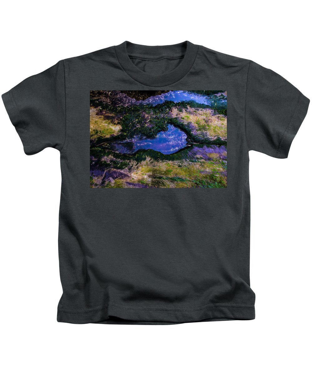 Kids T-Shirt featuring the photograph Bastendorff Beach by Angus Hooper Iii