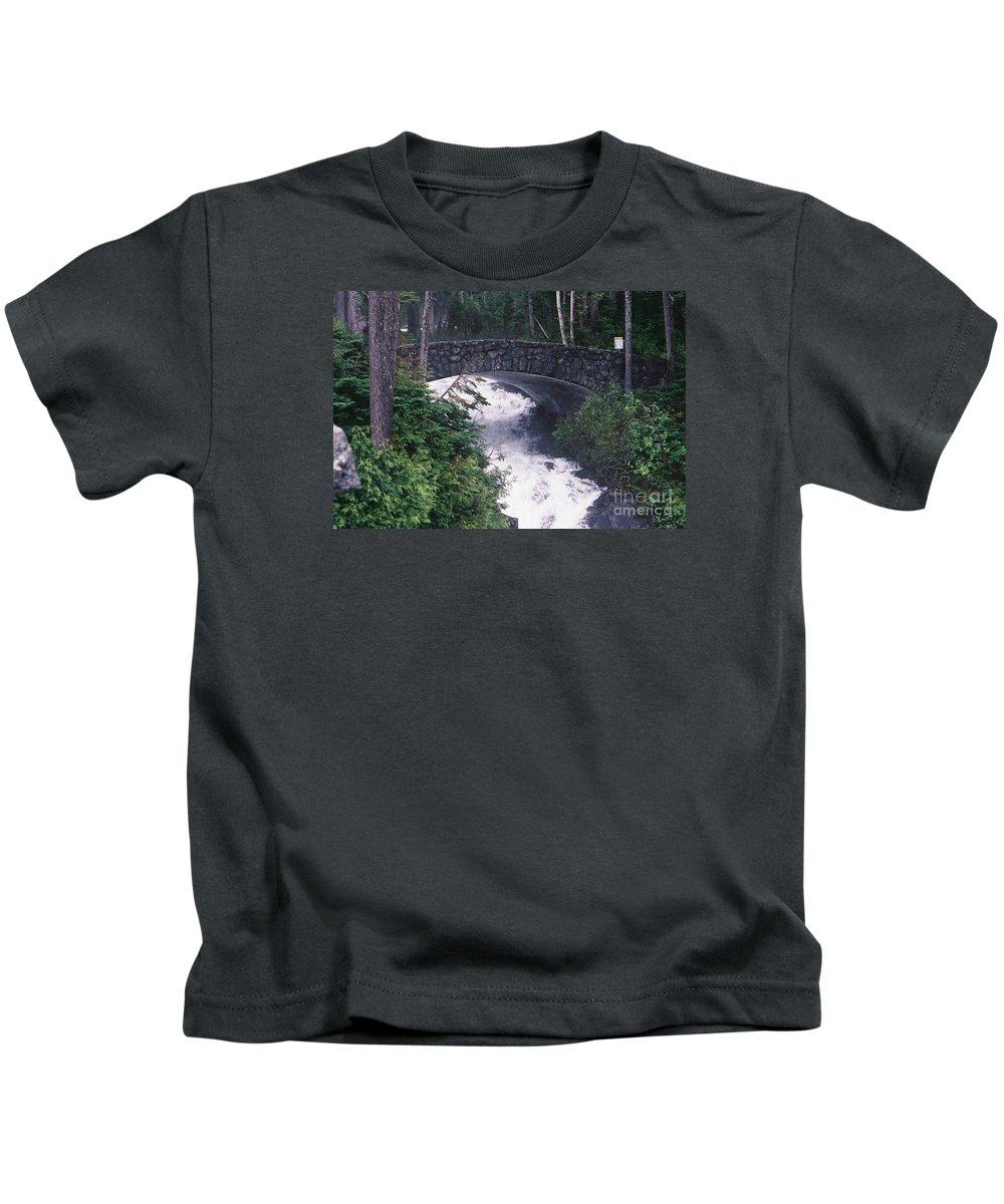 Bridges Kids T-Shirt featuring the photograph Untitled 26 by John Huntsman