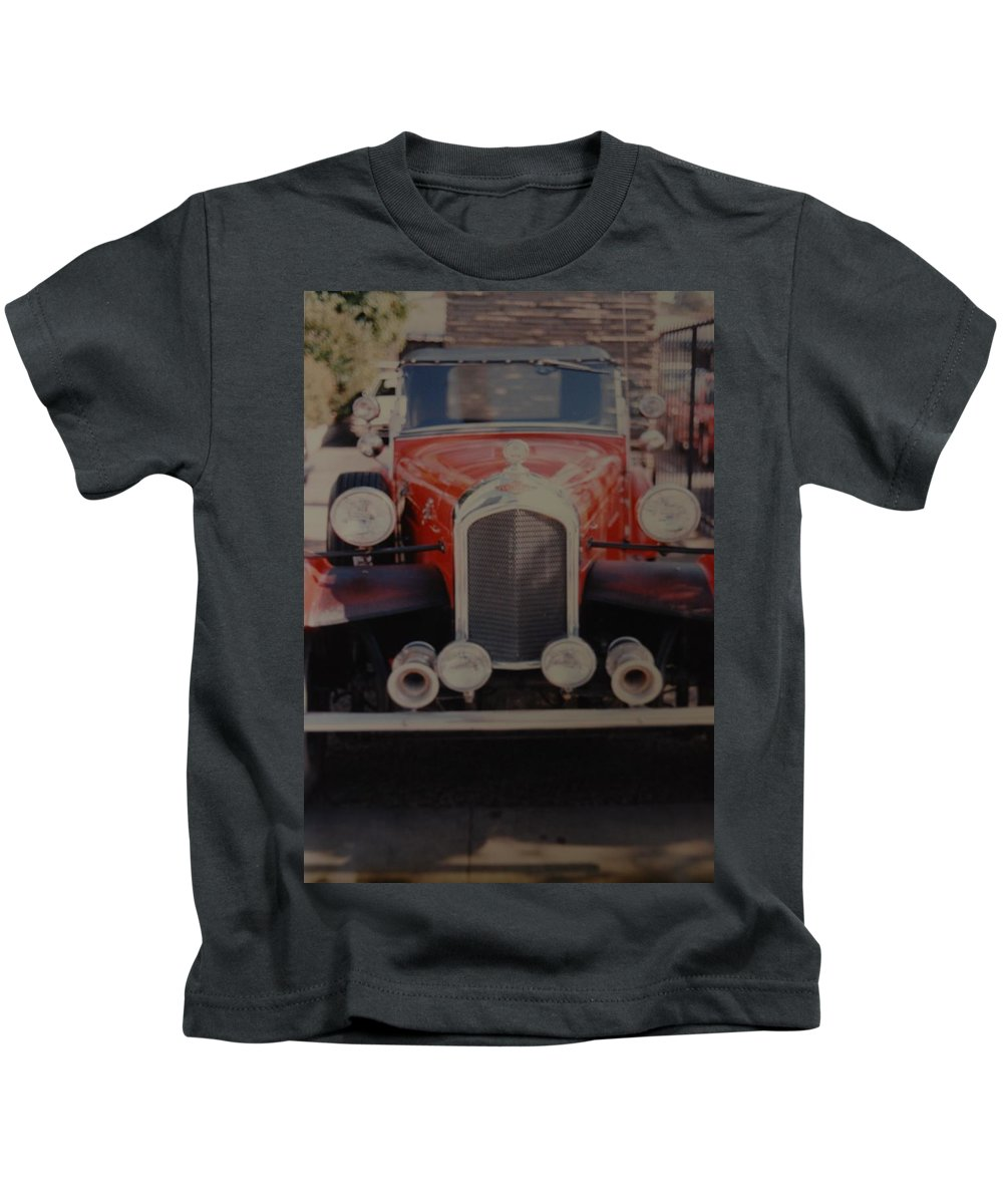 Car Kids T-Shirt featuring the photograph 1932 by Rob Hans