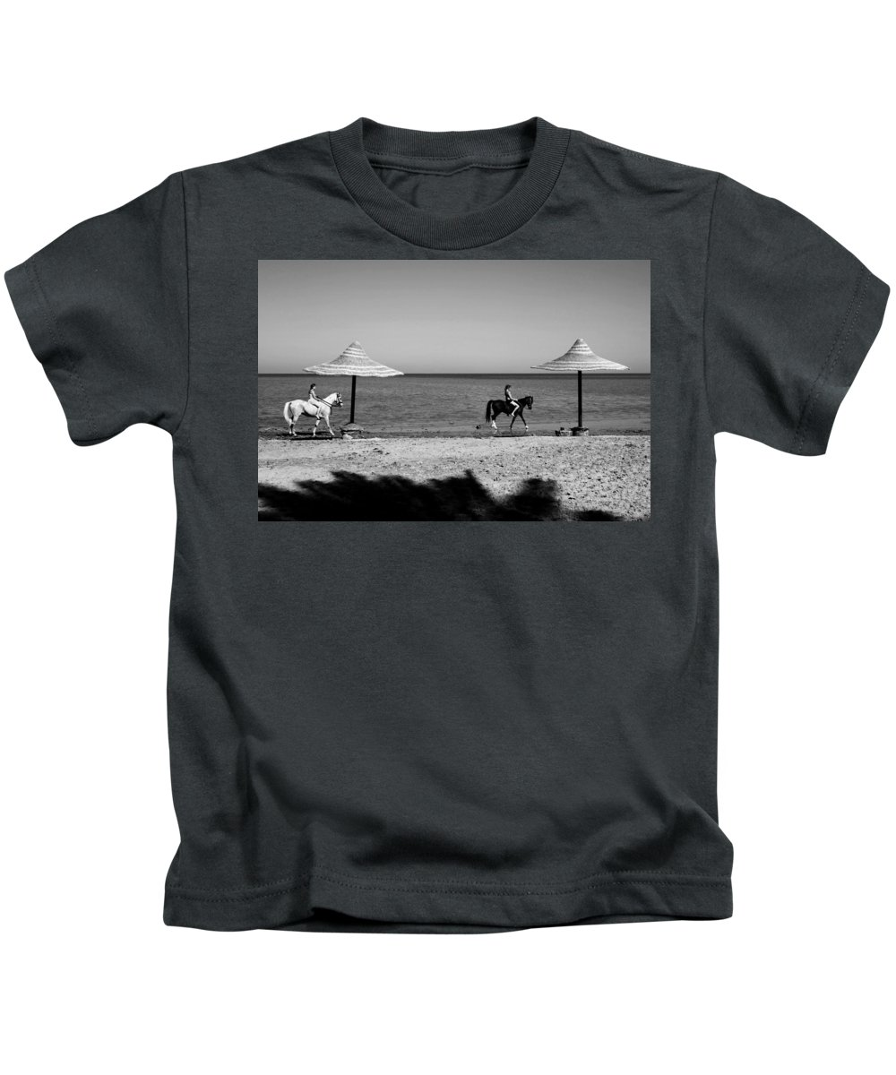 Jezcself Kids T-Shirt featuring the photograph 2 2 by Jez C Self