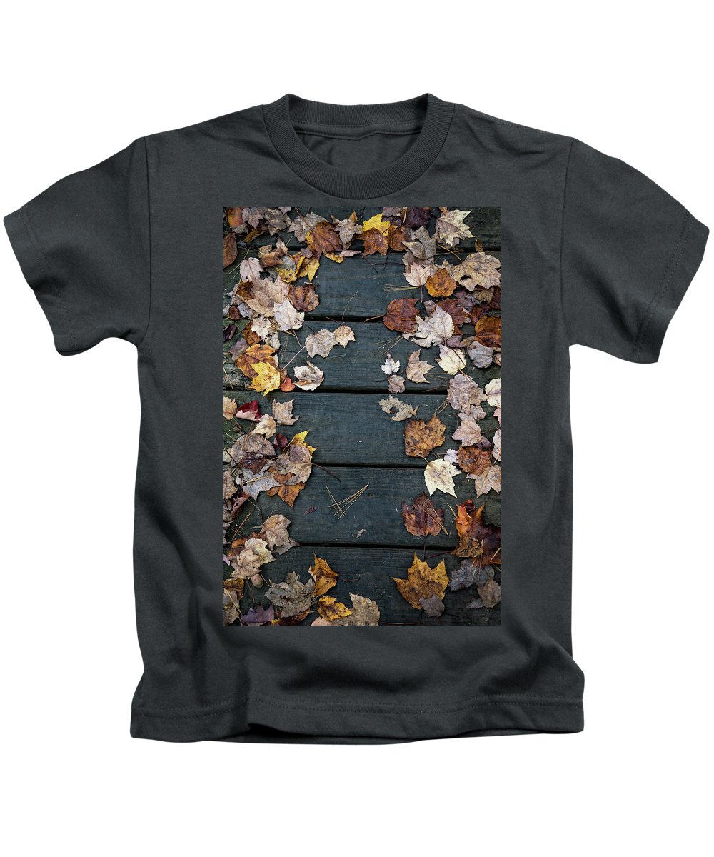 Fall Kids T-Shirt featuring the photograph Original Autumn Foliage by Enrico Della Pietra